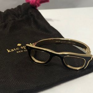 Kate Spade Goreski Lookout Glasses Bangle Bracelet